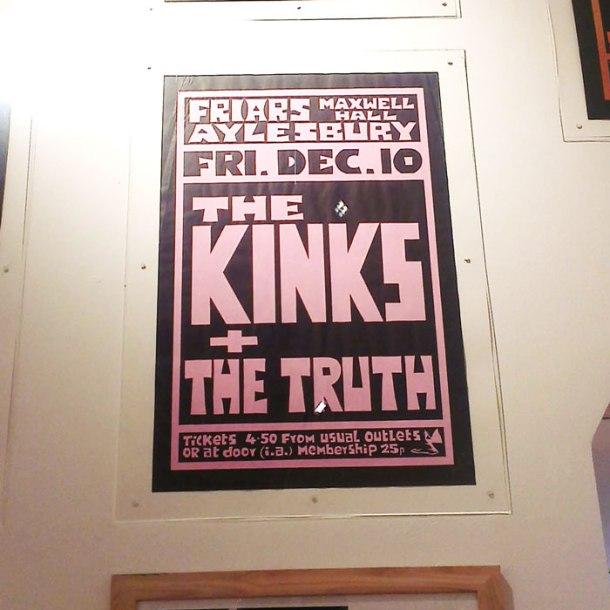 Kinks poster aylesbury
