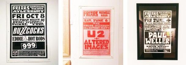 Gig posters Aylesbury